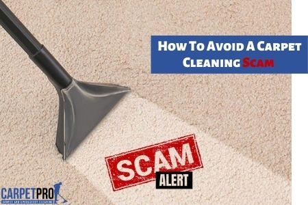 Carpet Cleaning Scam